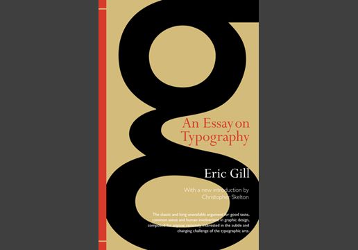 eric gill essay on typography